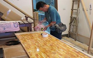 人造玉石板如何安装与维护与保养?