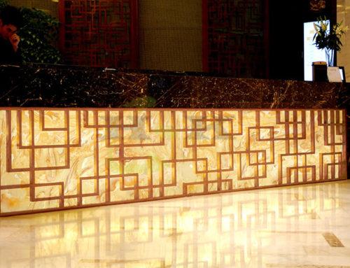 人造玉石板可以做在室外吗?