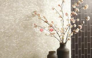 贝壳板瓷砖背景