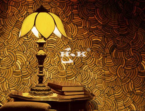 有一种室内墙面装饰板叫H.K竹木装饰板