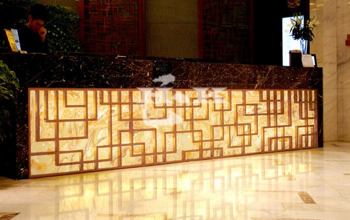 人造玉石酒台前台